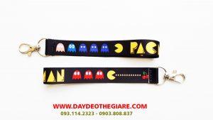 Dây đeo móc khóa mẫu Pacman 1