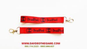 Dây đeo móc khóa mẫu Dead Pool 1