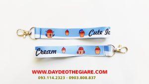 Dây đeo móc khóa mẫu Cute Ice Cream 1