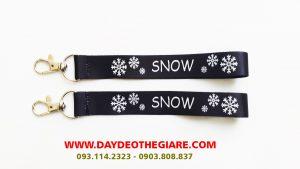 Dây đeo móc khóa mẫu Snow 1