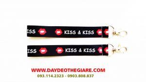 Dây đeo móc khóa mẫu Kiss & Kiss 1