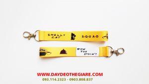 Dây đeo móc khóa mẫu Smelly Cat 1