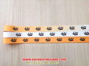 Dây đeo móc khóa mẫu Smile 1
