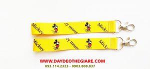 Dây đeo móc khóa mẫu Mickey Mouse 1