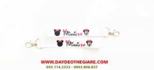 Dây đeo móc khóa mẫu Minnie 1