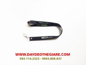 Dây đeo thẻ satin mẫu Mesa Group 2