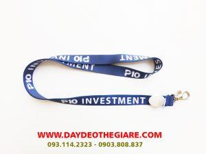 Dây đeo thẻ satin mẫu P10 Investment 2