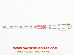 Dây đeo thẻ satin mẫu Mountan Dew 1