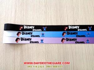 Dây đeo móc khóa mẫu Disney Channel 1