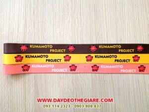 Dây đeo móc khóa mẫu Kumamoto Project 1
