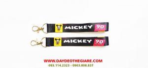 Dây đeo móc khóa mẫu Mickey 1