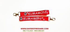 Dây đeo móc khóa mẫu Kumamon! 1