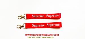 Dây đeo móc khóa mẫu Supreme 1