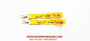 Dây đeo móc khóa mẫu B.Duck 1