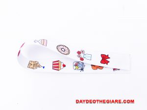 Dây đeo móc khóa mẫu Cartoon 4