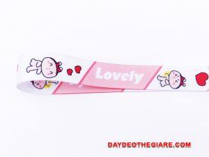 Dây đeo móc khóa mẫu Lovely v.2 4