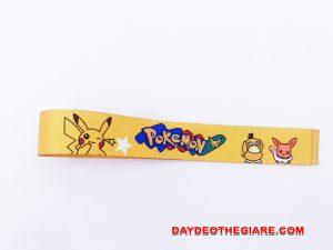 Dây đeo móc khóa mẫu Pokemon 1