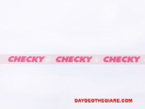 Dây đeo móc khóa mẫu Checky 1