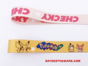 Dây đeo móc khóa mẫu Pokemon 3