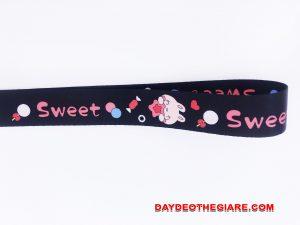 Dây đeo móc khóa mẫu Sweet v.2 3