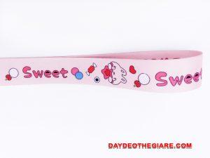 Dây đeo móc khóa mẫu Sweet v.2 2