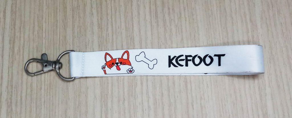 Dây đeo khóa KEFOOT 2020 1