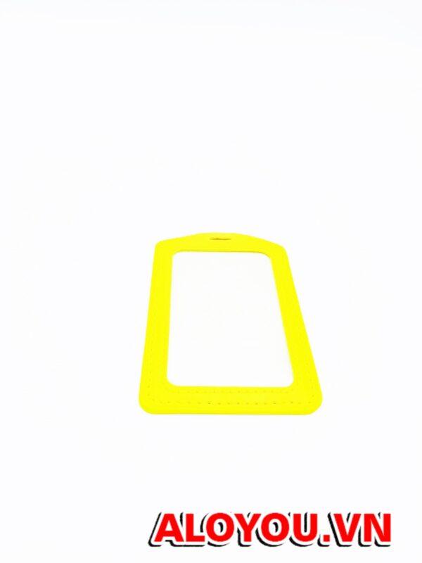 Bao da Simili màu vàng 3