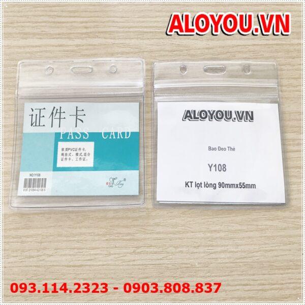 Bao đeo thẻ Y108 1