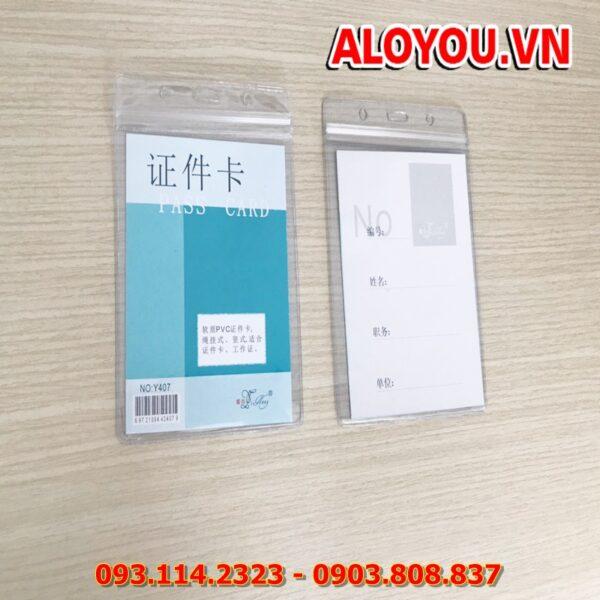 Bao đeo thẻ Y407 3