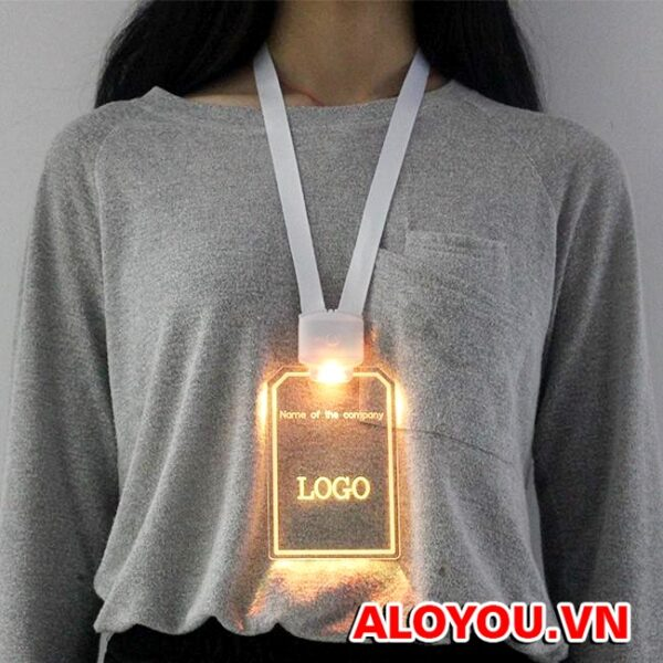 Dây đeo thẻ led 4