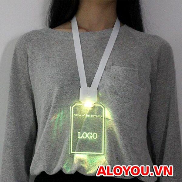 Dây đeo thẻ led 5