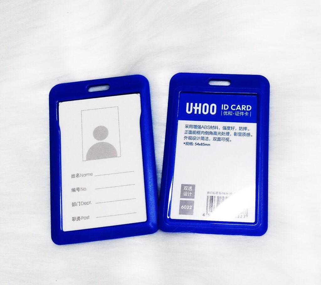 Bao đeo nhựa Uhoo xanh dương 2