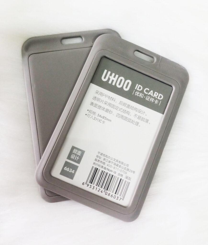 Bao nhựa Uhoo xám 2021 1