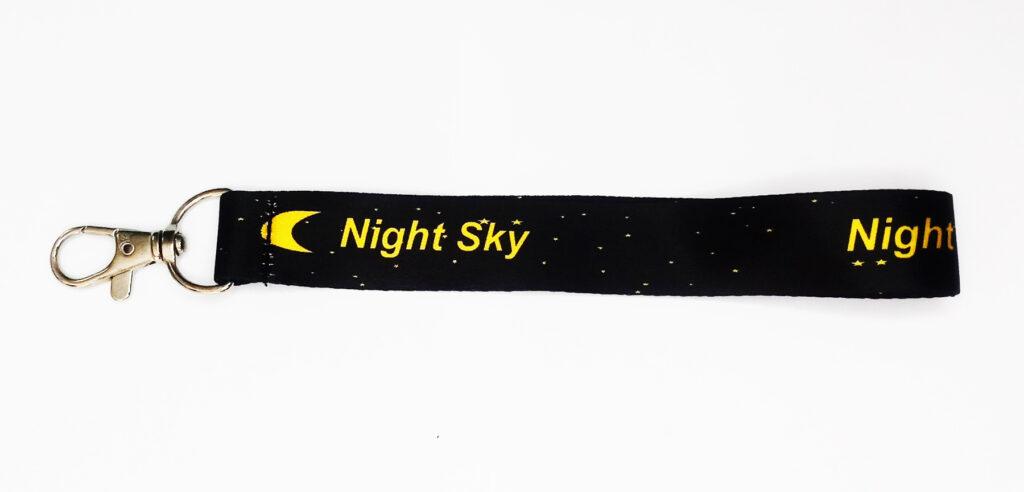 Dây móc khóa Sky đen 1