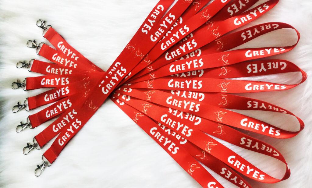 Dây đeo thẻ Satin GREYES 1