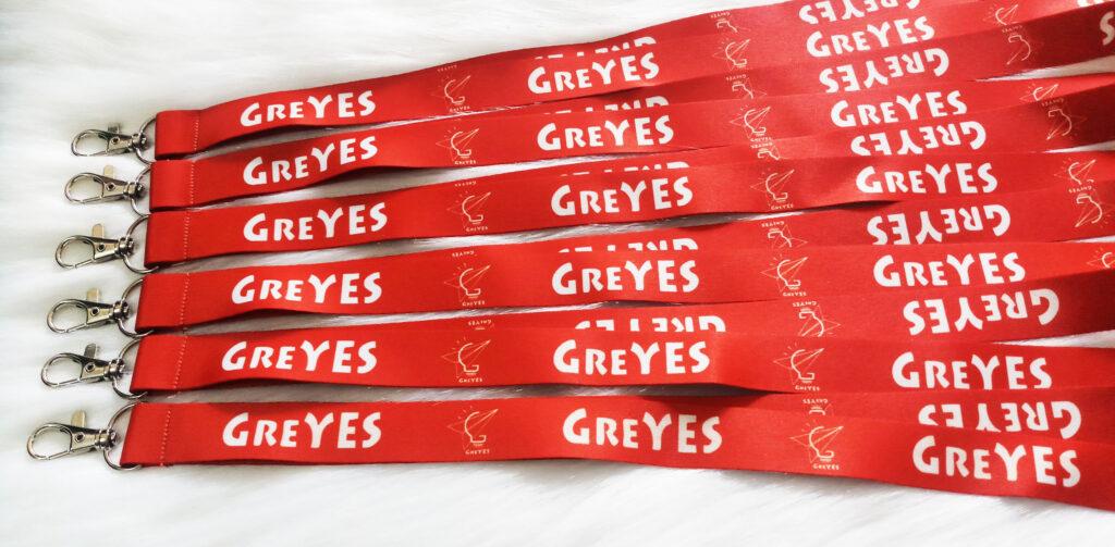 Dây đeo thẻ Satin GREYES 2