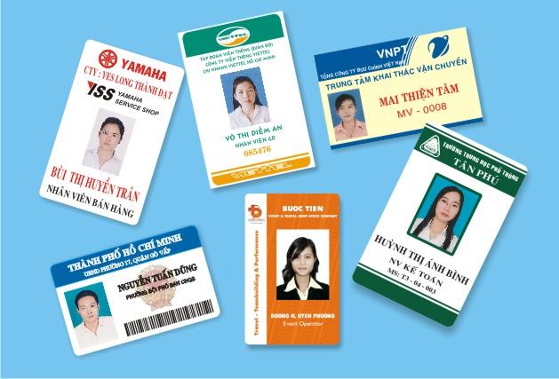 Nhận in thẻ tên nhân viên 2